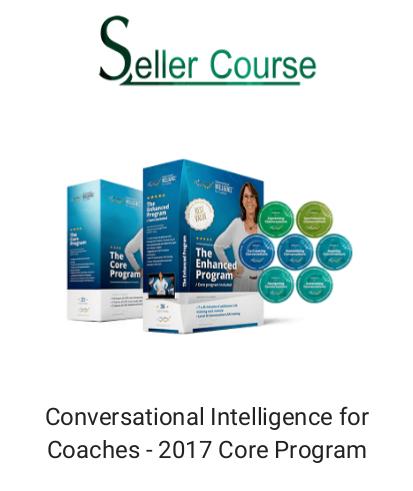Conversational Intelligence for Coaches - 2017 Core Program