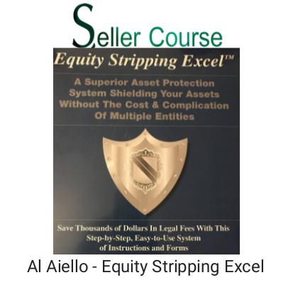 Al Aiello - Equity Stripping Excel