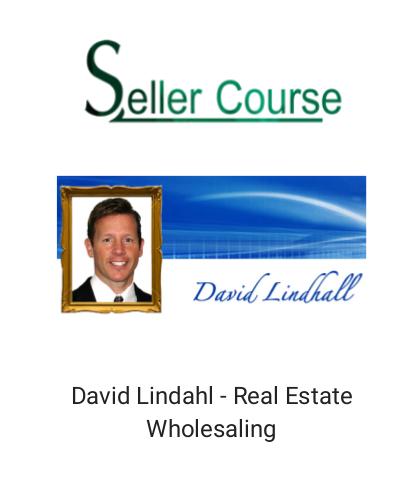 David Lindahl - Real Estate Wholesaling