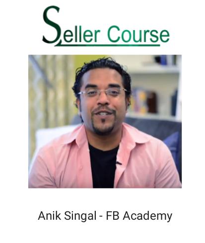 Anik Singal - FB Academy
