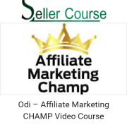 Odi – Affiliate Marketing CHAMP Video Course