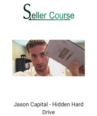 Jason Capital - Hidden Hard Drive