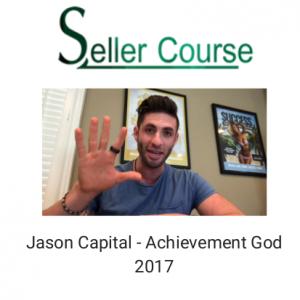 Jason Capital - Achievement God 2017