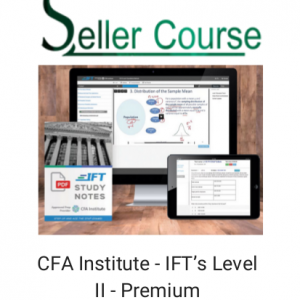 CFA Institute - IFT's Level II - Premium