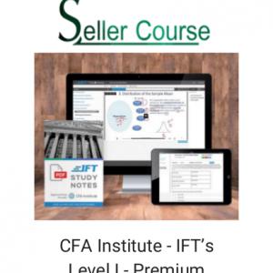 CFA Institute - IFT's Level I - Premium