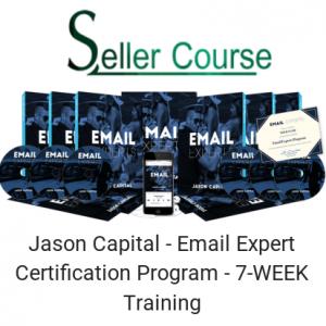 Jason Capital - Email Expert Certification Program - 7-WEEK Training