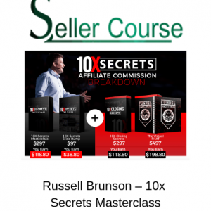 Russell Brunson – 10x Secrets Masterclass