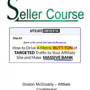 Duston McGroarty – Affiliate Confidential