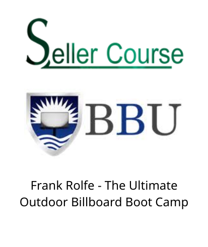 Frank Rolfe - The Ultimate Outdoor Billboard Boot Camp