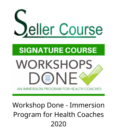 Workshop Done - Immersion Program for Health Coaches 2020